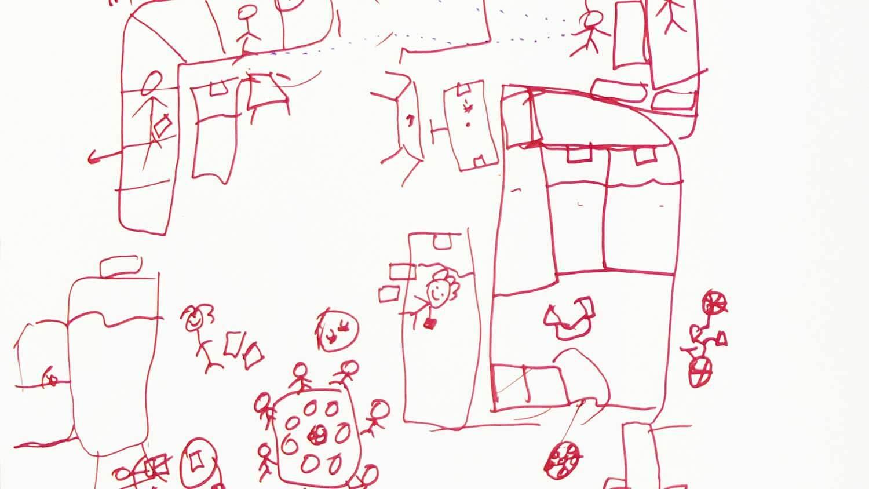 Osäkra Boendesituationer Malmö Teckning